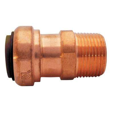 1/2 in. Copper Push-to-Connect x MPT Adapter