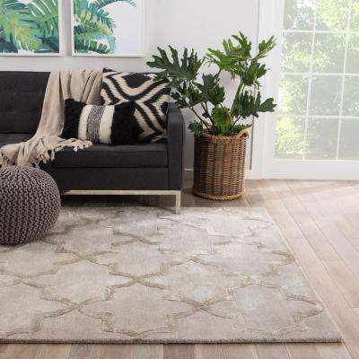Moonstruck 5 ft. x 8 ft. Trellis Area Rug