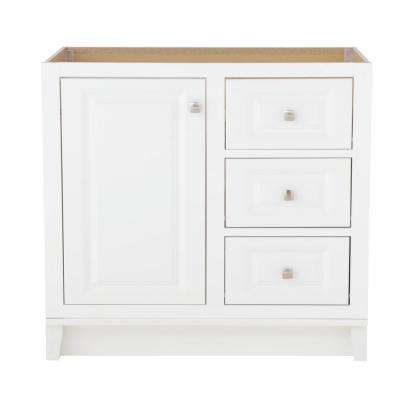 Kinghurst 36 in. W x 21 in. D x 33.5 in. H Bath Vanity Cabinet Only in White