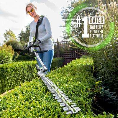 POWER+ Multi-Head System 20 in. 56-Volt Lithium-Ion Cordless Electric Hedge Trimmer, 2.5 Ah Battery and Charger Included