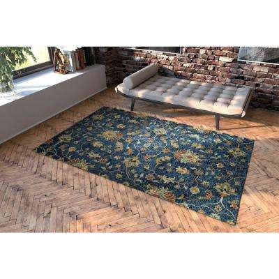 Chancellor Denim 4 ft. x 6 ft. Area Rug