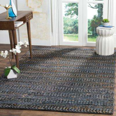Natural Fiber Gray 4 ft. x 6 ft. Indoor Area Rug