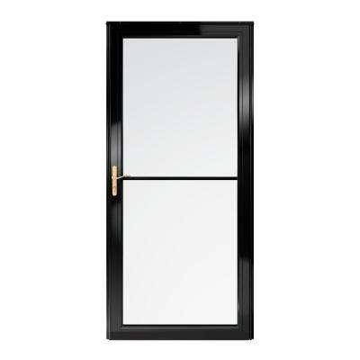 2500 Series Full View Retractable Aluminum Storm Door