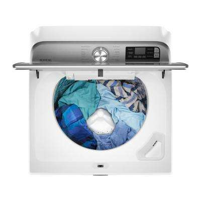 5.3 cu. ft. Smart Capable White Top Load Washing Machine with Extra Power Button, ENERGY STAR