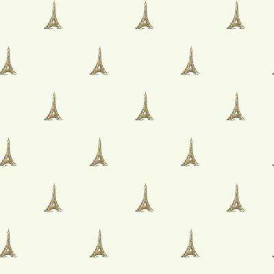 56 sq. ft. Waverly Kids Tres Chic Tower Wallpaper