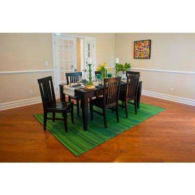 Cancun Indoor/Outdoor Green 6 ft. x 9 ft. Area Rug