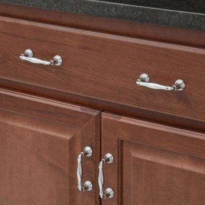 3 in. Devonshire Polished Chrome Drawer Center-to-Center Pull