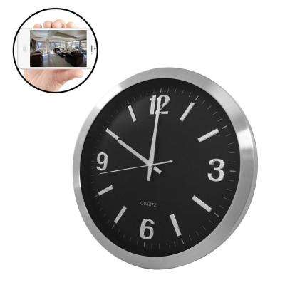 Wireless Wall Clock iSecurity Camera with MicroSD Recorder with Remote Viewing