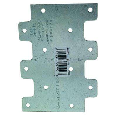 20-Gauge 3 in. x 4-1/4 in. Lateral Tie Plate