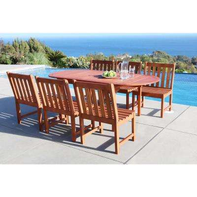 Malibu 7-Piece Oval Patio Dining Set