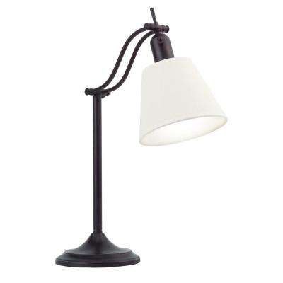 16 in. Antiqued Bronze Desk Lamp