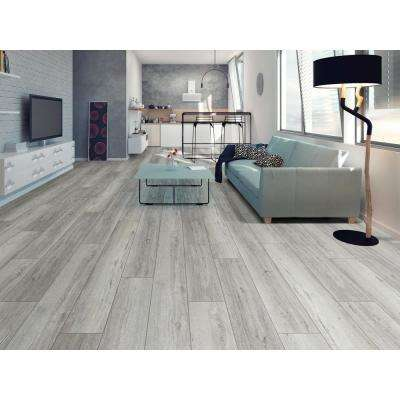 Melrose Oak Click 9 in. x 59 in. Sidewalk Resilient Vinyl Plank Flooring (21.79 sq. ft. / case)