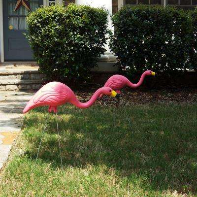 26 in. Pink Flamingo (2-Pack)
