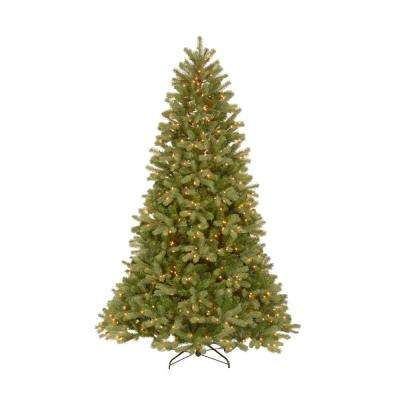 7.5 ft. Feel-Real Downswept Douglas Fir Artificial Christmas Tree with 750 Clear Lights
