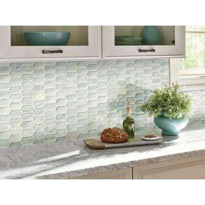 Calypso Picket 12 in. x 12 in. x 8mm Glass Mesh-Mounted Mosaic Tile (9.7 sq. ft. / case)