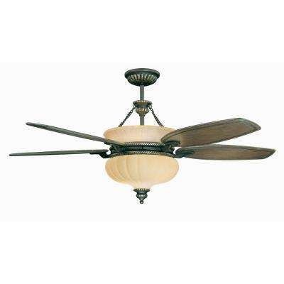 6-Light Ceiling Fan Oil Rubbed Bronze-DISCONTINUED