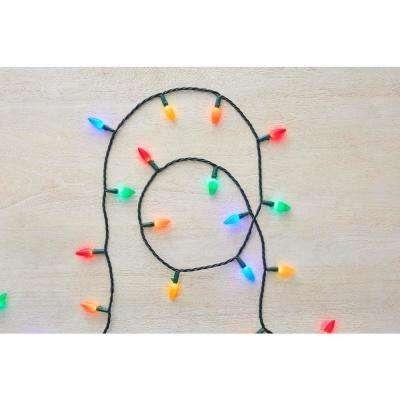 50-Light LED Multi-Color Ceramic String Light