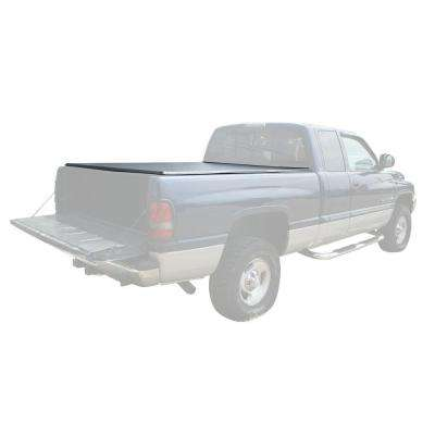 77 in. x 69 in. 25 lb. Vinyl Tonneau Truck Bed Cover for Dodge Ram