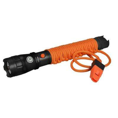 AA LED Para-Survival Flashlight, Orange