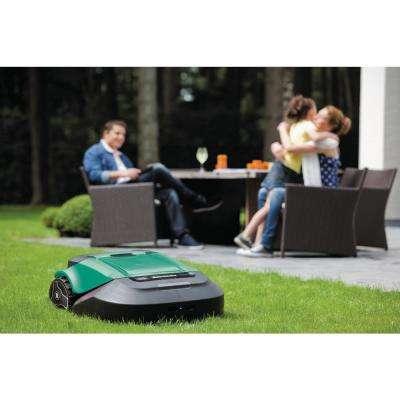 22 in. Battery Powered Electric Robotic Lawn Mower (Up to 1/4 Acre)