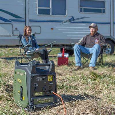 3,000/2,800-Watt Gasoline Powered Digital Inverter Generator