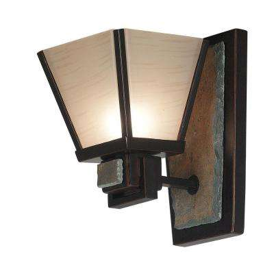 Clean Slate 1-Light Oil Rubbed Bronze Sconce
