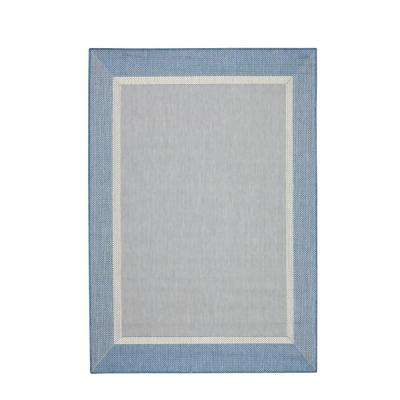 Islander Blue/Champagne 7 ft. 6 in. x 10 ft. 9 in. Area Rug