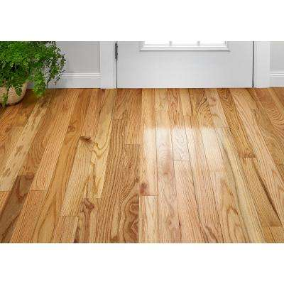 Plano Oak Country Natural 3/4 in. Thick x 3-1/4 in. Wide x Varying Length Solid Hardwood Flooring (22 sq. ft. / case)