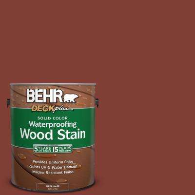1 gal. #S160-7 Red Chipotle Solid Color Waterproofing Wood Stain
