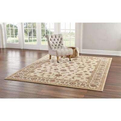 Claire Cream 5 ft. x 7 ft. Area Rug
