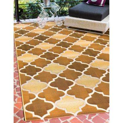 Outdoor Gold 8' 0 x 11' 4 Area Rug
