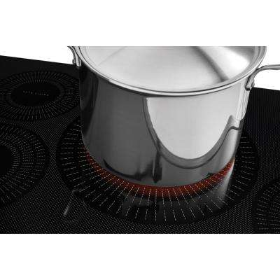 36 in. Smooth Induction Cooktop in Black with 5 Elements