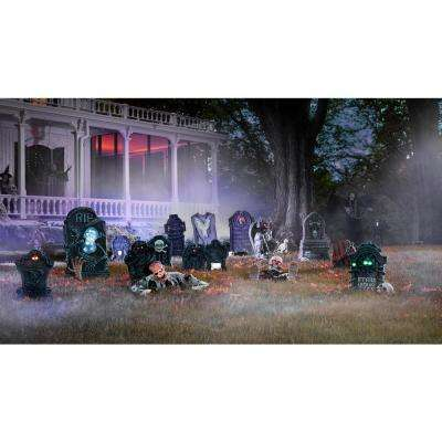 13 in. Escape from the Grave Zombie with Light Up Eyes