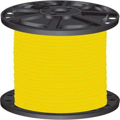 2,500 ft. 8-Gauge Yellow Stranded CU SIMpull THHN Wire