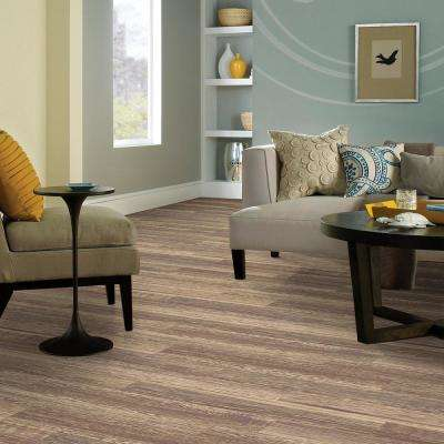 Hand Scraped Oak La Porte 12 mm Thick x 6.14 in. Wide x 50.55 in. Length Laminate Flooring (828 sq. ft. / pallet)