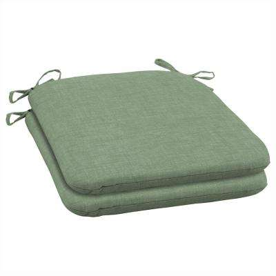 Jade Leala Texture Outdoor Seat Cushion (Pack of 2)