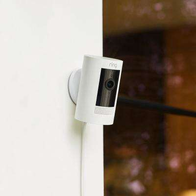 Stick Up Camera Plug-In Indoor/Outdoor Standard Security Camera, White