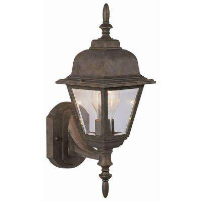 Maple Street Washed Copper Outdoor Wall-Mount Uplight