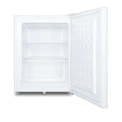 MOMCUBE 1.8 cu. ft. Breast Milk Upright Freezer in White