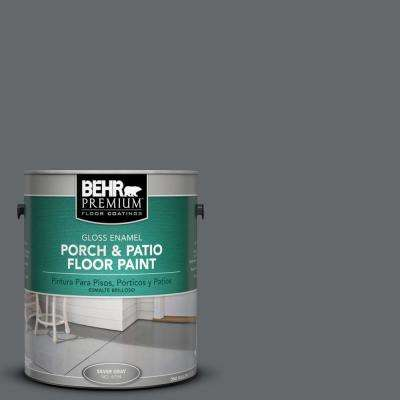 1 gal. #PPU26-02 Imperial Gray Gloss Porch and Patio Floor Paint
