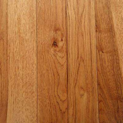 Hickory Autumn Wheat 3/4 in. Thick x 3-1/4 in. Wide x Random Length Solid Hardwood Flooring (22 sq. ft. / case)