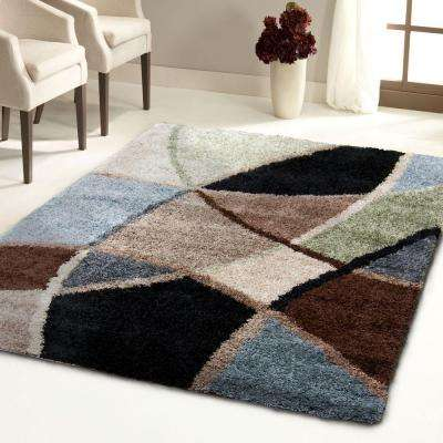 Divulge Blue 7 ft. x 10 ft. Indoor Area Rug