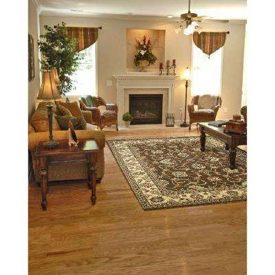 Chester Sultan Brown 3 ft. x 5 ft. Area Rug