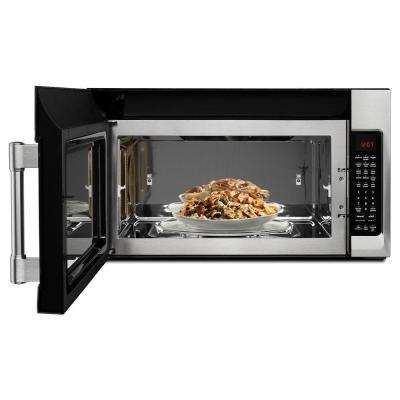 30 in. W 1.9 cu. ft. Over the Range Convection Microwave in Fingerprint Resistant Stainless Steel
