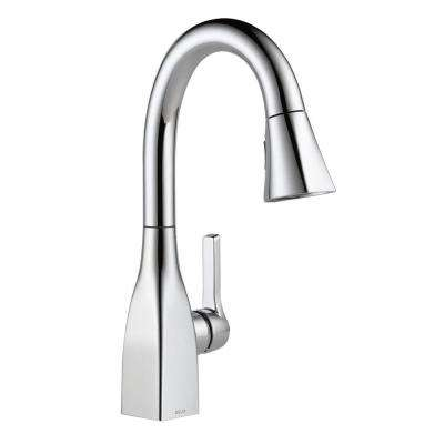Mateo Single-Handle Prep Pull-Down Sprayer Kitchen Faucet in Chrome