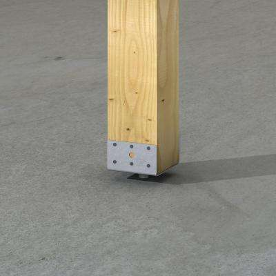 EPB Galvanized Elevated Post Base for 6x6 Nominal Lumber