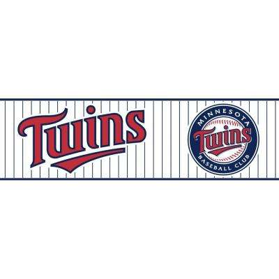 Boys Will Be Boys II Minnesota Twins Wallpaper Border