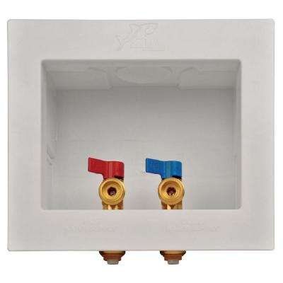 1/2 in. Washing Machine Outlet Box