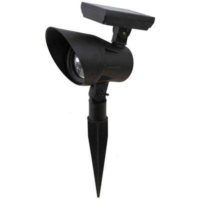 Black Solar Open Stock LED Spot Light 15 Lumens