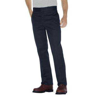 Men's Dark Navy Flex Twill Work Pant